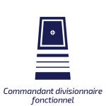 Commandant divisionnaire fonctionnel
